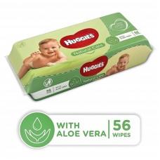 Huggies Lingettes Natural Care 56