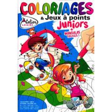 coloriages & jeux a points juniors