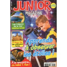 junior magazine apprends a observer les étoiles
