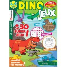 DINO JEUX Un magazine de jeux pour voyager dans le temps ! N°002