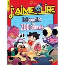 J' aime lire N°514 : Prisonnier-au-zoo-galaxie
