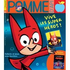 Pomme d'Api  N°647 : Vive les super héros !